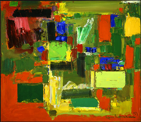 Autumn Gold by Hans Hofmann, 1957 Oil on Canvas